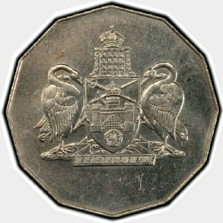 1988 Pattern Fifty Cent obverse