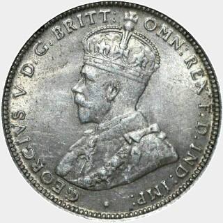 1914  Shilling obverse