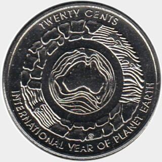 2008  Twenty Cent reverse