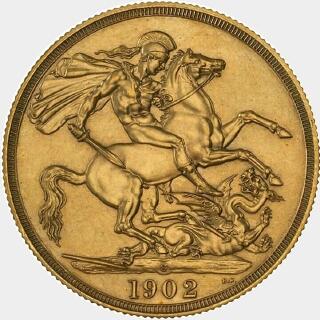 1902-S Pattern Two Pound reverse