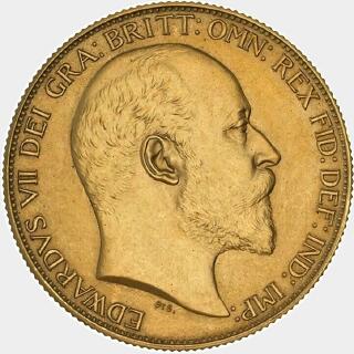 1902-S Pattern Two Pound obverse