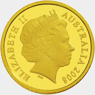 2008 Proof Five Dollar obverse