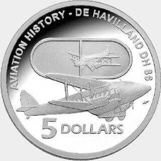 2009 Proof Five Dollar reverse