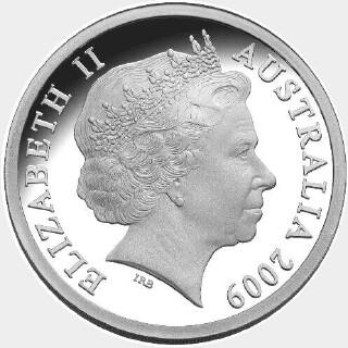 2009 Gold Overlaid One Dollar obverse