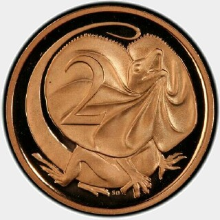 2010 Proof Two Cent reverse