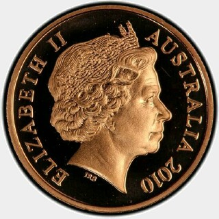 2010 Proof One Cent obverse