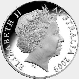 2010 Proof Five Dollar obverse