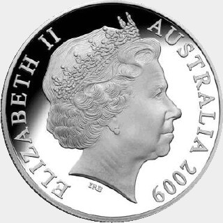 2010 Proof Five Dollar obverse
