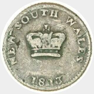 1813 Type C|4 Dump obverse