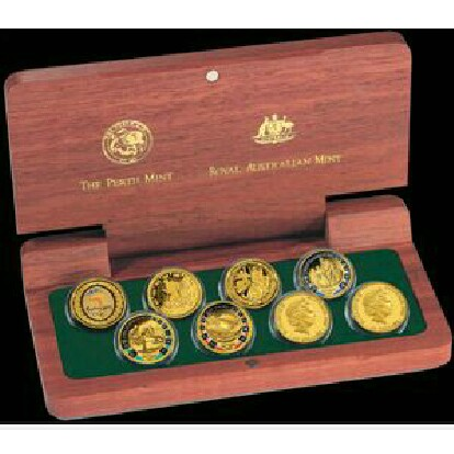 Olympic Gold 100 Dollar Commemorative Coin Collection
