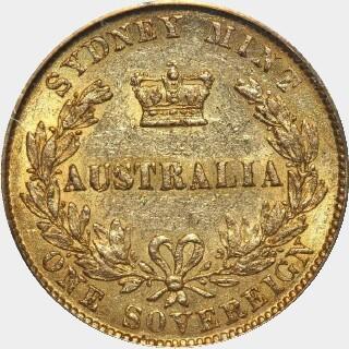 1865  Full Sovereign reverse