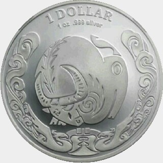 2009 Proof One Dollar reverse
