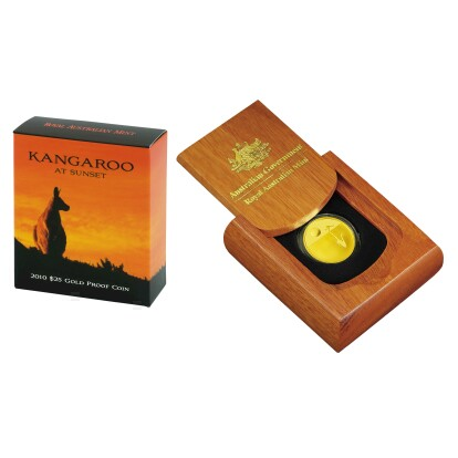 Kangaroo at Sunset 2010 Gold Proof Coin