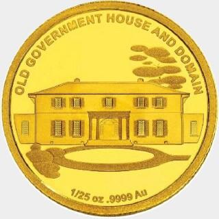 2011 Proof Five Dollar reverse