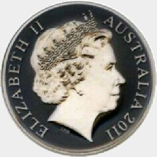 2011 Proof Two Dollar obverse