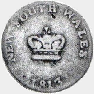 1813 Type E|3 Dump obverse
