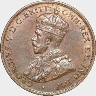 1924  Penny obverse