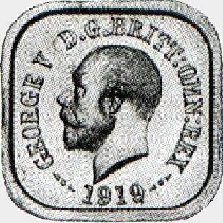 1919 Type 4 Penny obverse