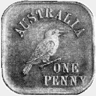 1919 Type 4a Penny reverse