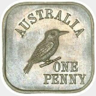 1919 Type 6 Penny reverse