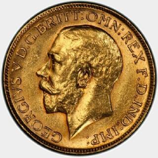 1920-M  Full Sovereign obverse