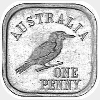 1920 Type 9 Penny reverse