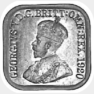 1920 Type 10 Penny obverse