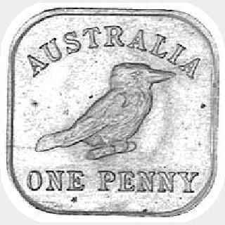 1920 Type 13 Penny reverse