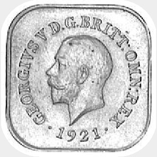 1920 Type 13 Penny obverse