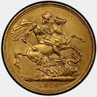 1880-M Narrow Truncation Long Tail Full Sovereign reverse