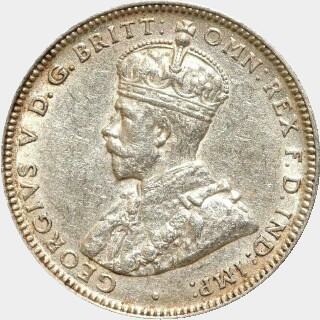 1917-M  One Shilling obverse