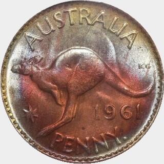 1961-Y  Penny reverse