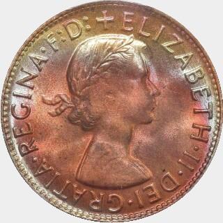 1961-Y  Penny obverse