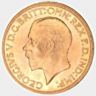 1930-M  Full Sovereign obverse