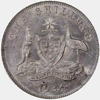 1934  Shilling reverse