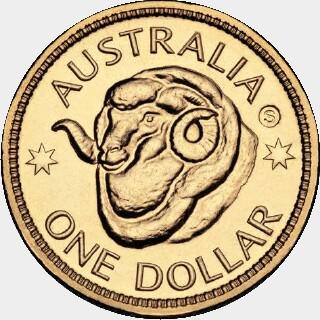 2011-H  One Dollar reverse