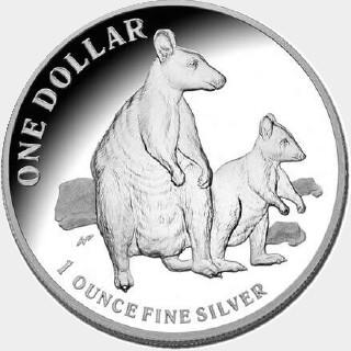 2011 Proof One Dollar reverse