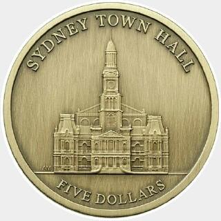 2012  Five Dollar reverse