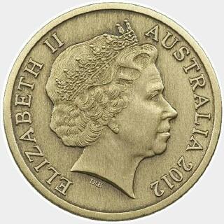 2012  Five Dollar obverse
