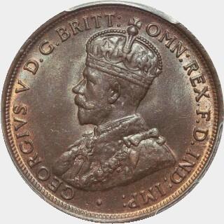 1913  Penny obverse