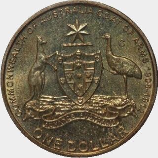 2008-C  One Dollar reverse