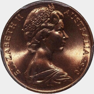 1970  Two Cent obverse