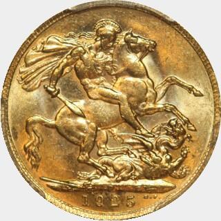1925-P  Full Sovereign reverse