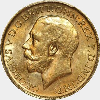 1925-P  Full Sovereign obverse