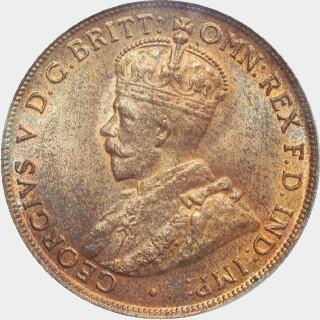1915-H  Penny obverse