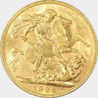 1926-P  Full Sovereign reverse