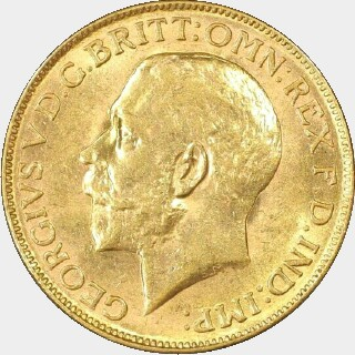 1926-P  Full Sovereign obverse