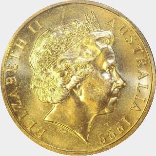 1999-S  One Dollar obverse