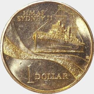 2000-C  One Dollar reverse
