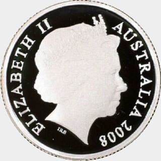 2008 Silver Proof One Dollar obverse